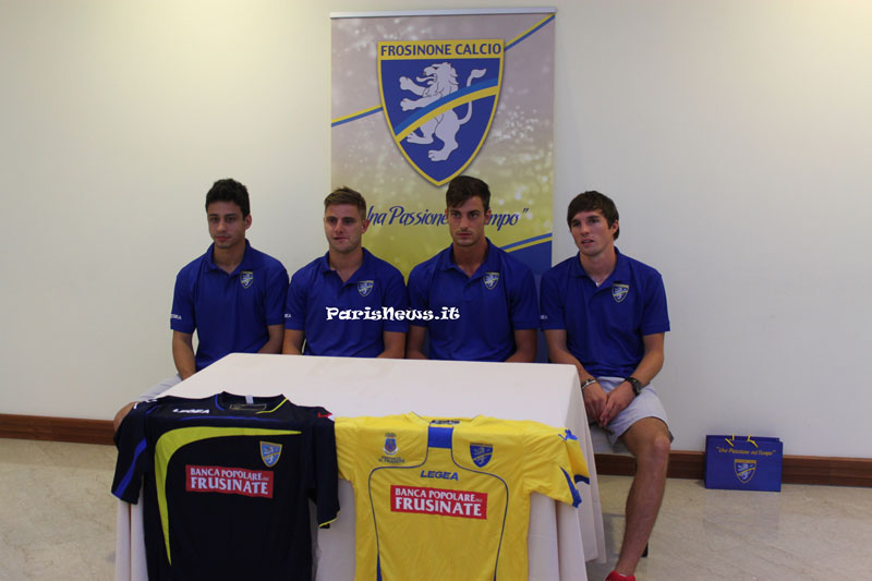 conferenza Frosinone Calcio