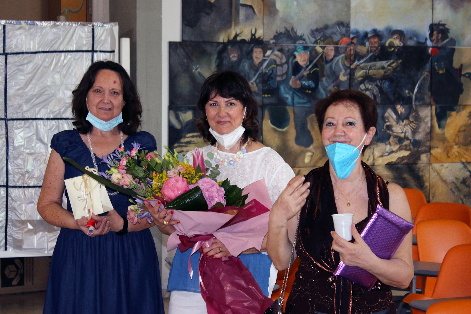Liceo Artistico: in pensione due storiche insegnanti