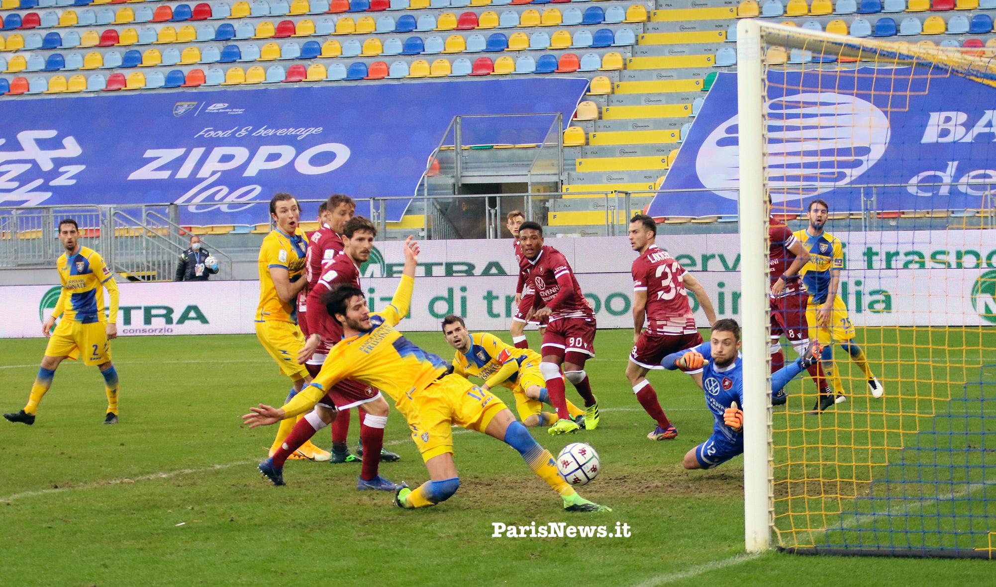 Frosinone - Reggina: 1-1