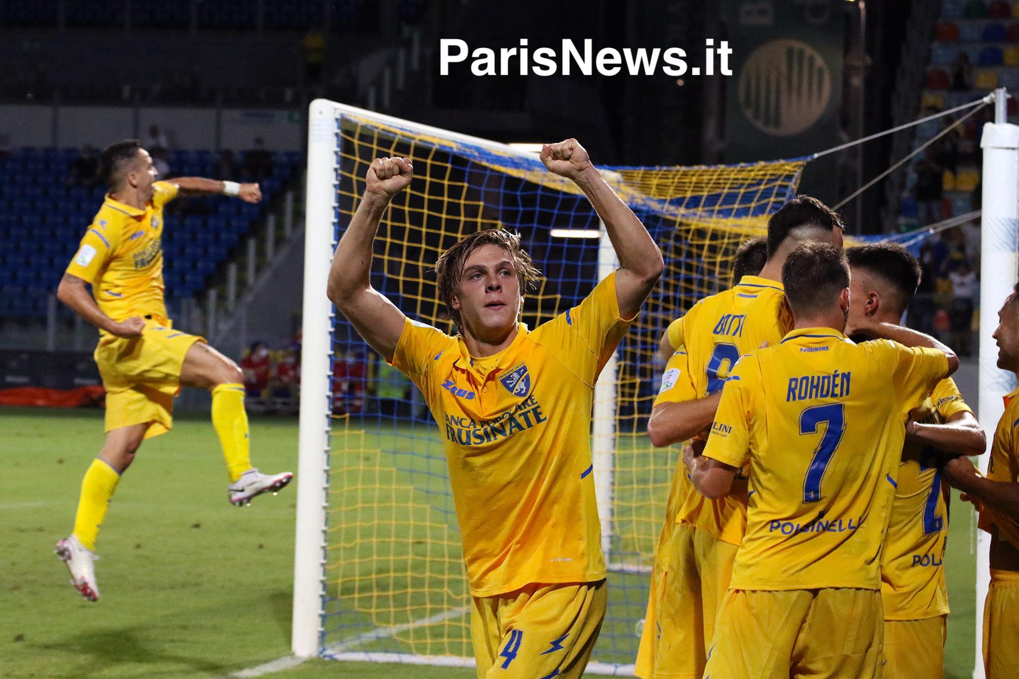 Como - Frosinone 0-2
