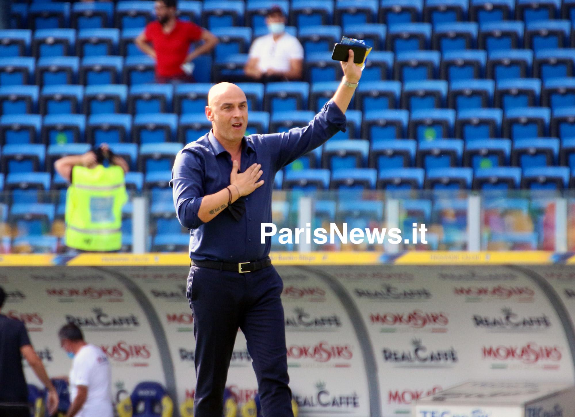 Frosinone: Giannitti ringrazia i tifosi