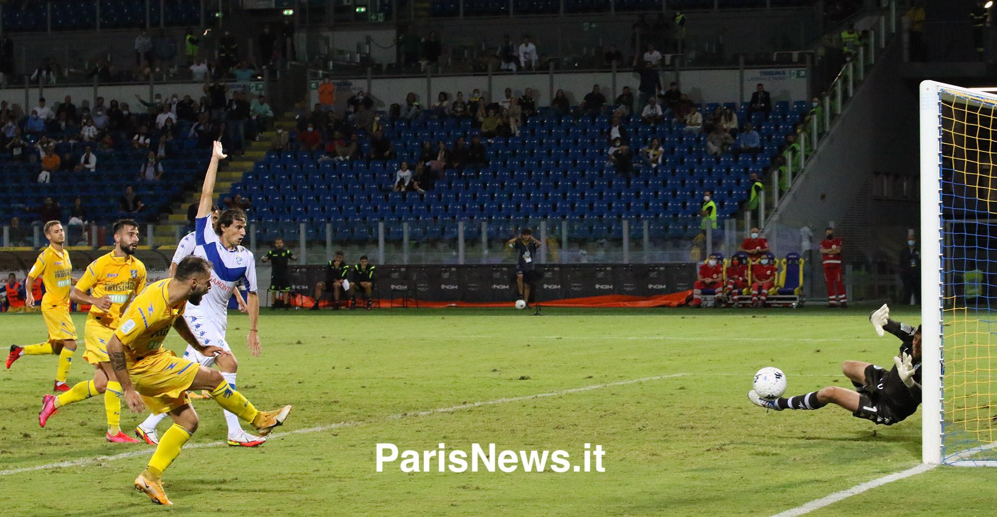 Frosinone - Brescia 2-2