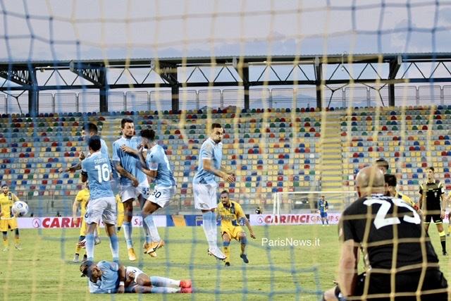 La Lazio batte un buon Frosinone