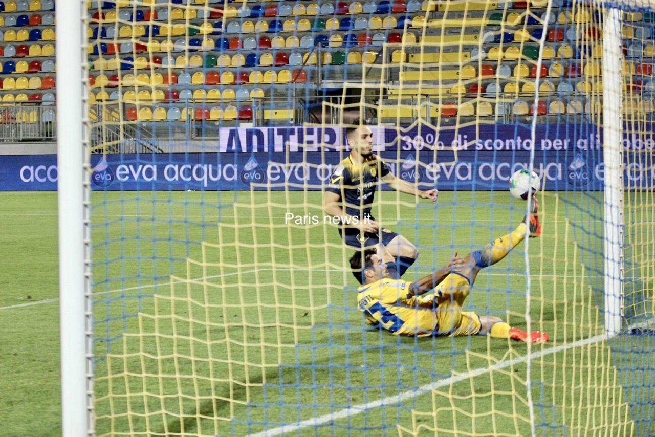 Frosinone - Juve Stabia 2-2 fin