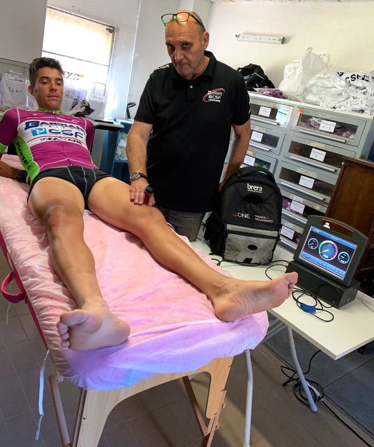 Brera Medical al fianco del Team Bardiani