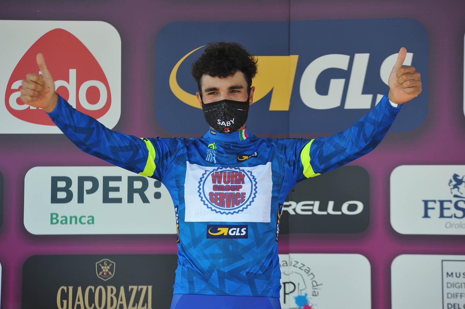 Giro d'Italia Giovani, Bobbo argento a Riccione