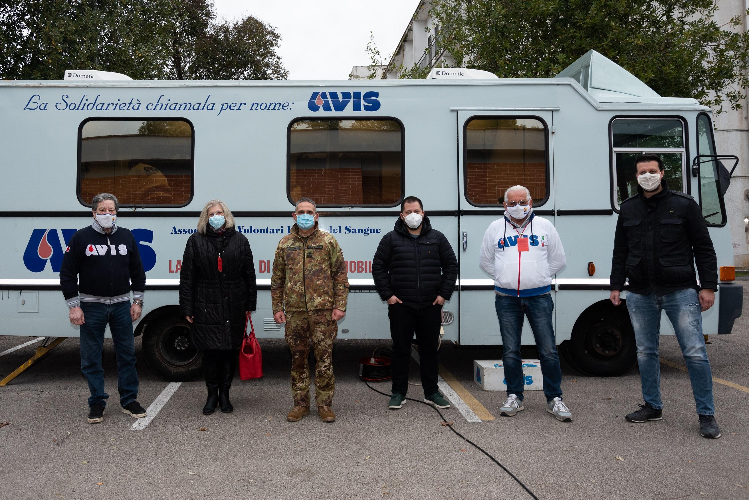 Borgo Piave, alla 4^ Brigata giornata dedicata alla donazione sangue