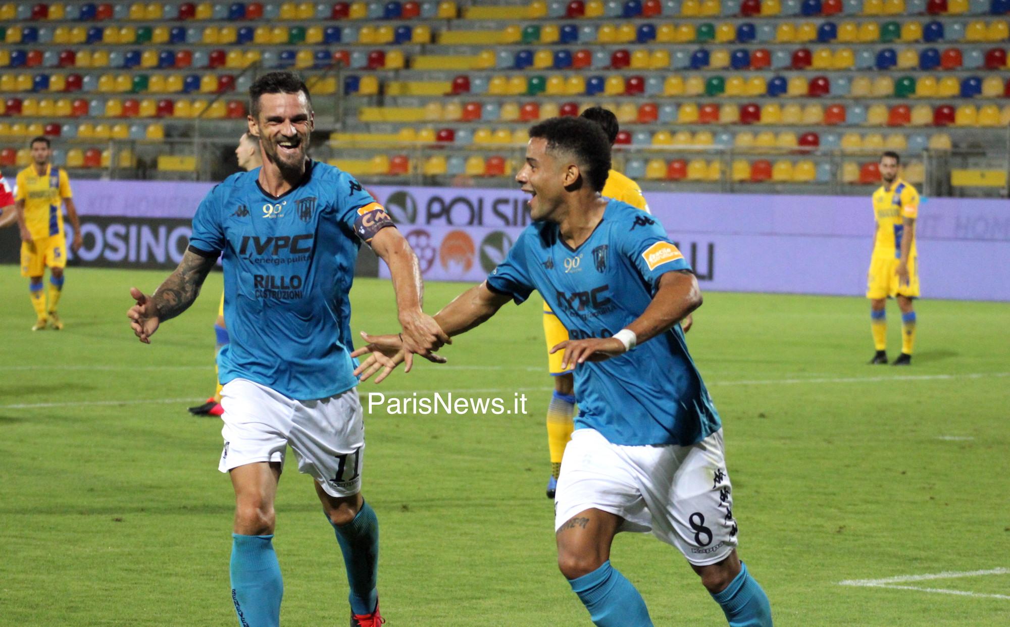 Frosinone - Benevento 2-3 fin