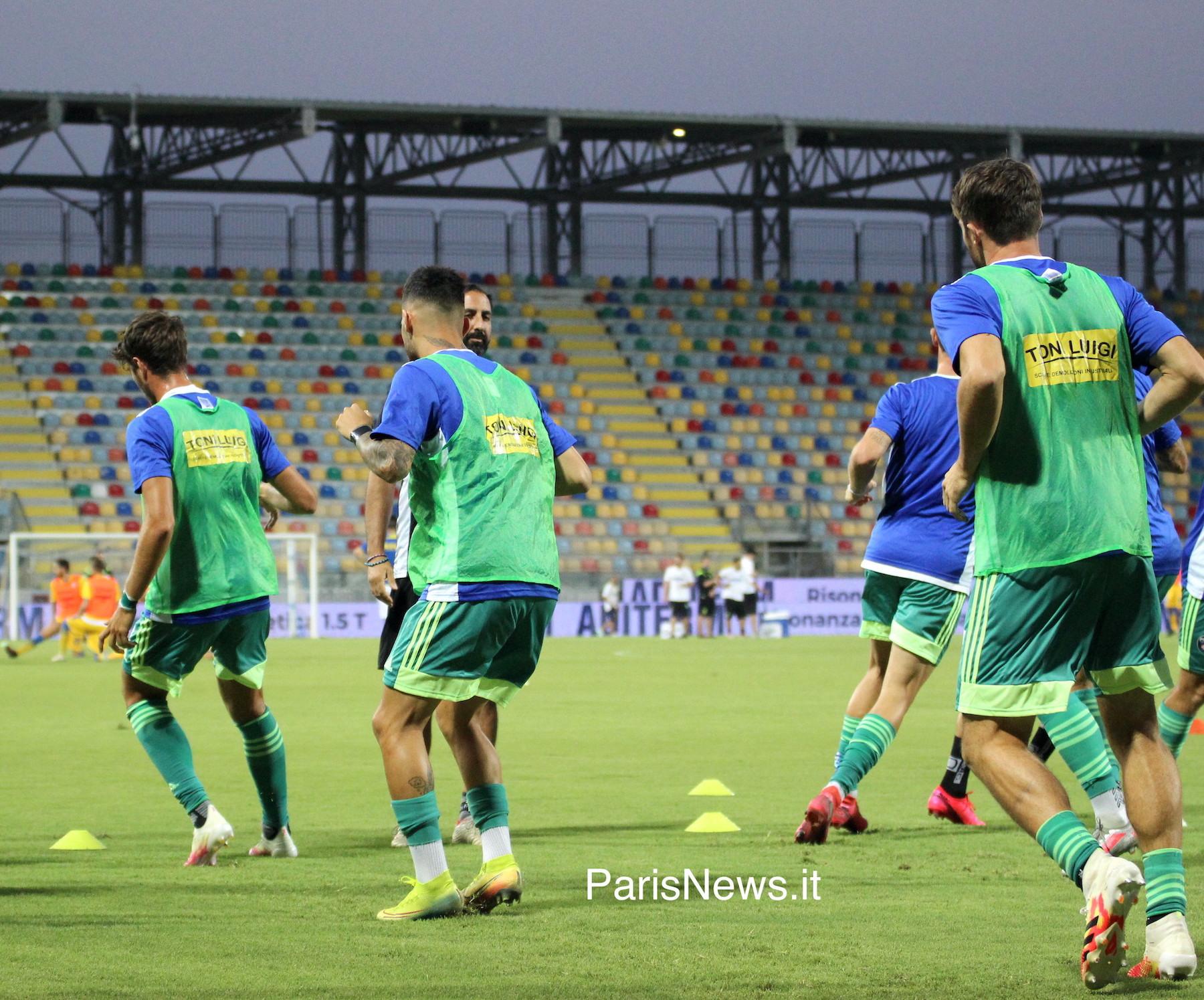 Frosinone - Pisa 1-1 fin