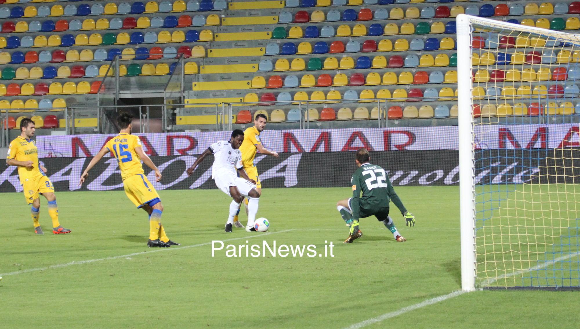 Frosinone - Spezia 0-1 fin