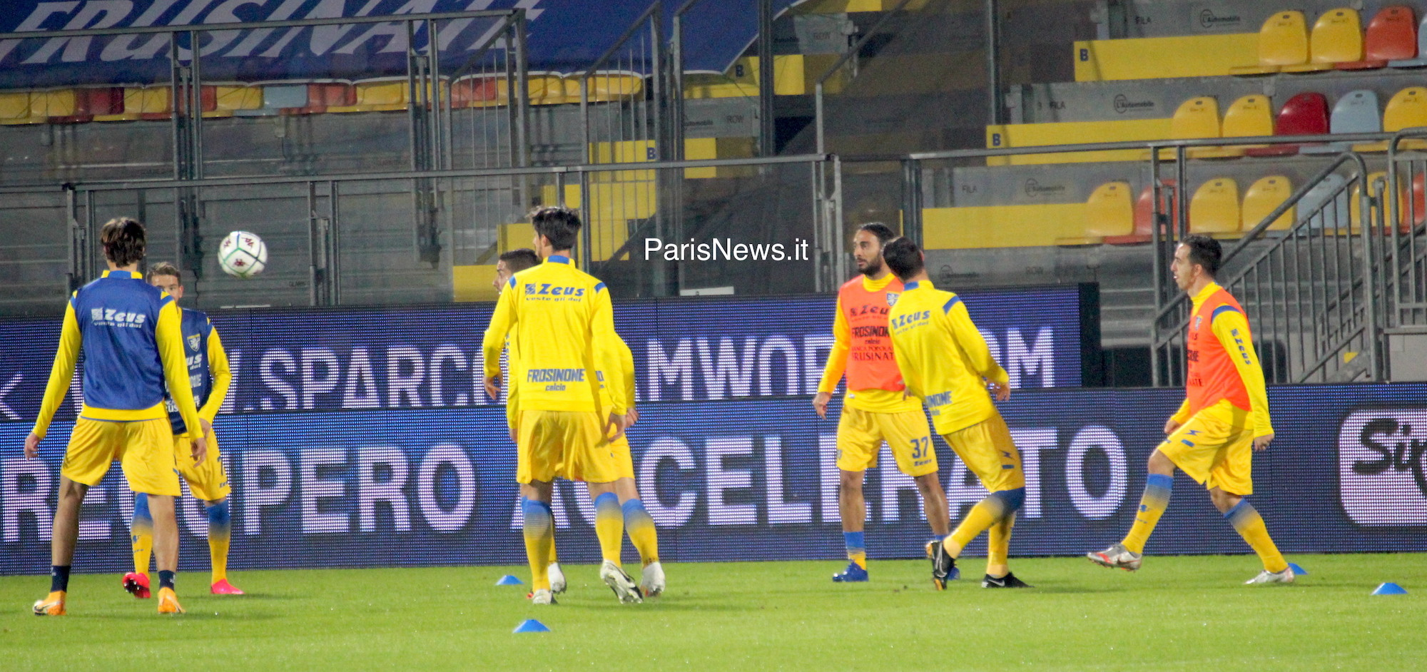 Frosinone - Virtus Entella 0-0 fin.