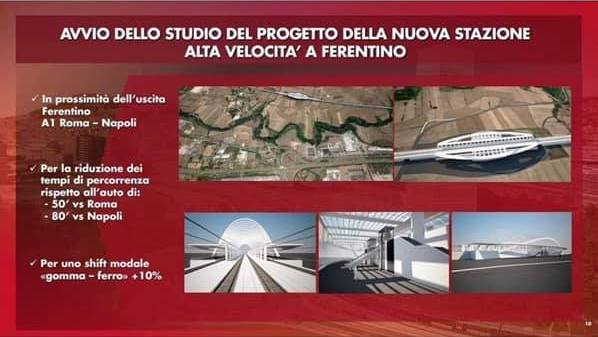 Alta velocita' a Ferentino, le reazioni della politica