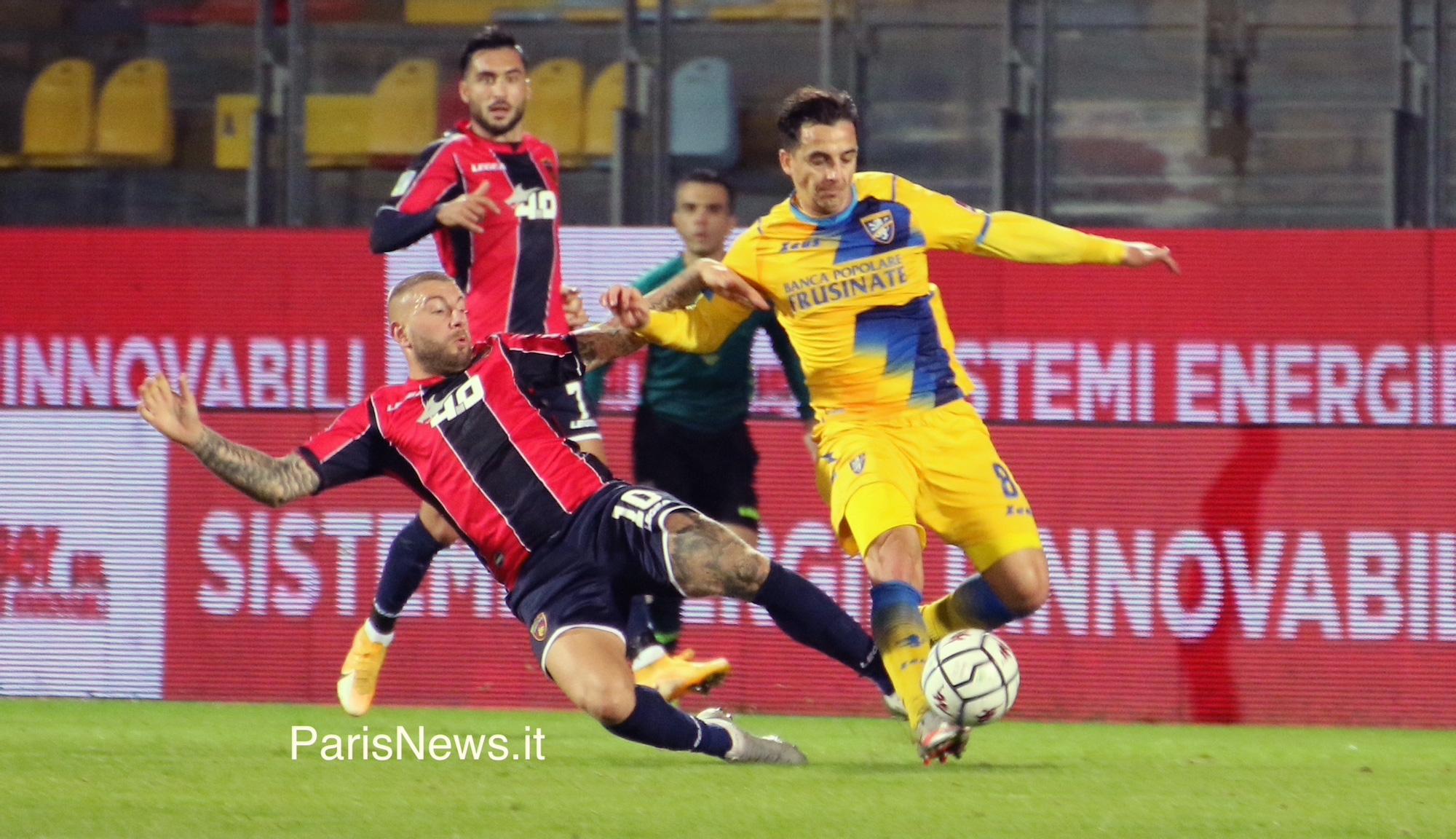 Frosinone, sconfitta interna con il Cosenza