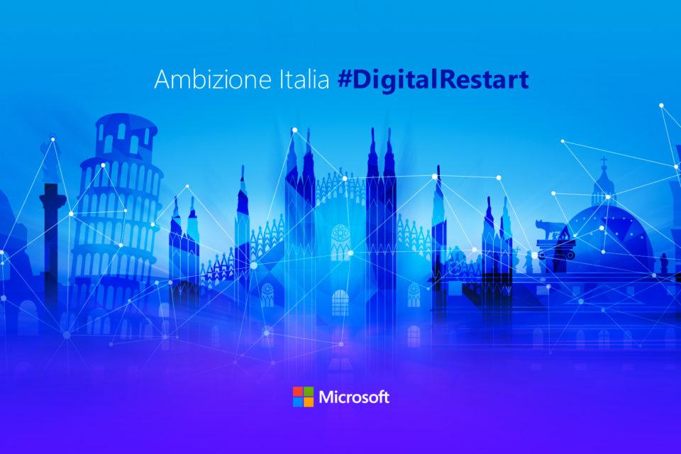 Microsoft, lanciato piano da 1,5 miliardi per l'Italia