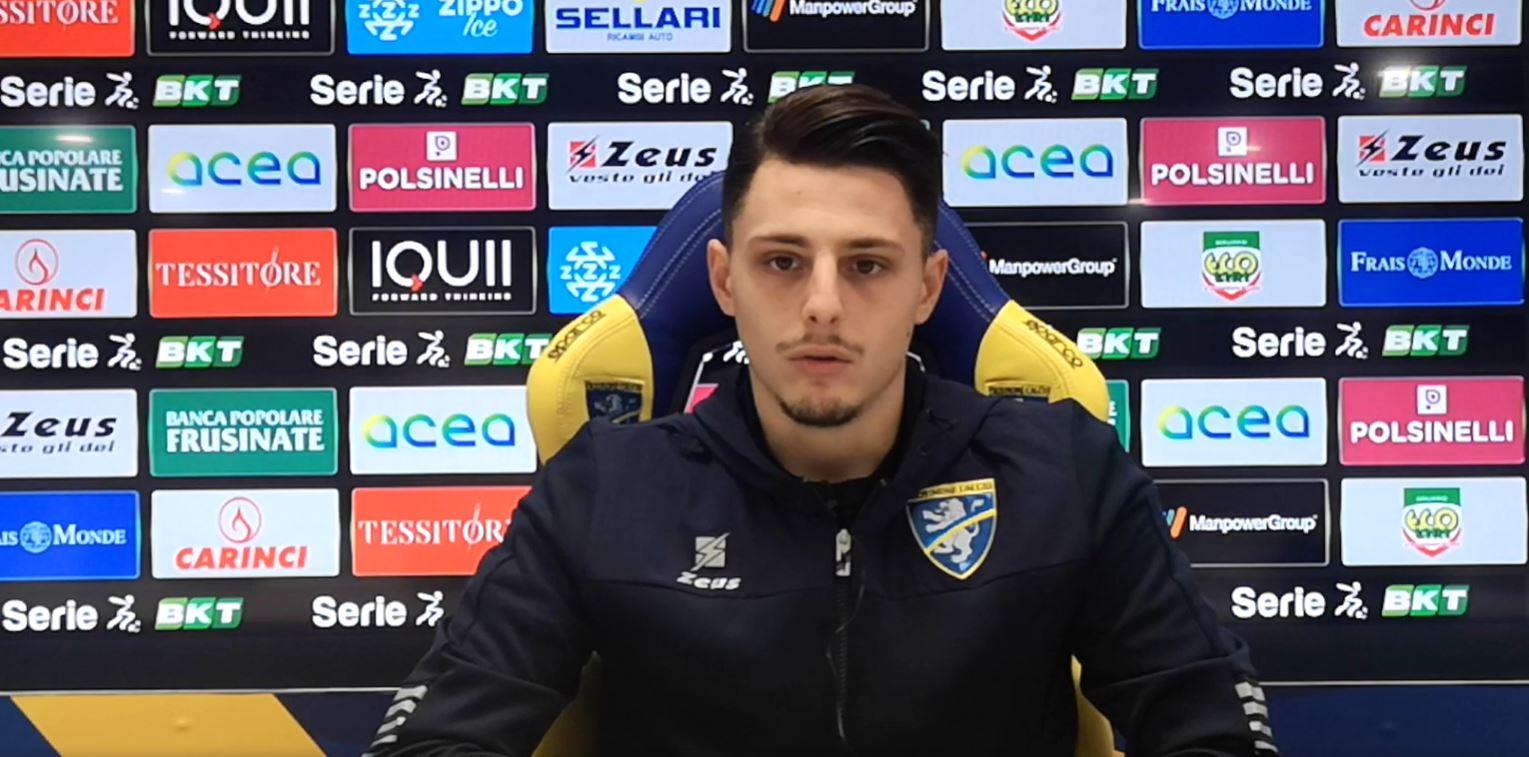 Frosinone, presentato Millico