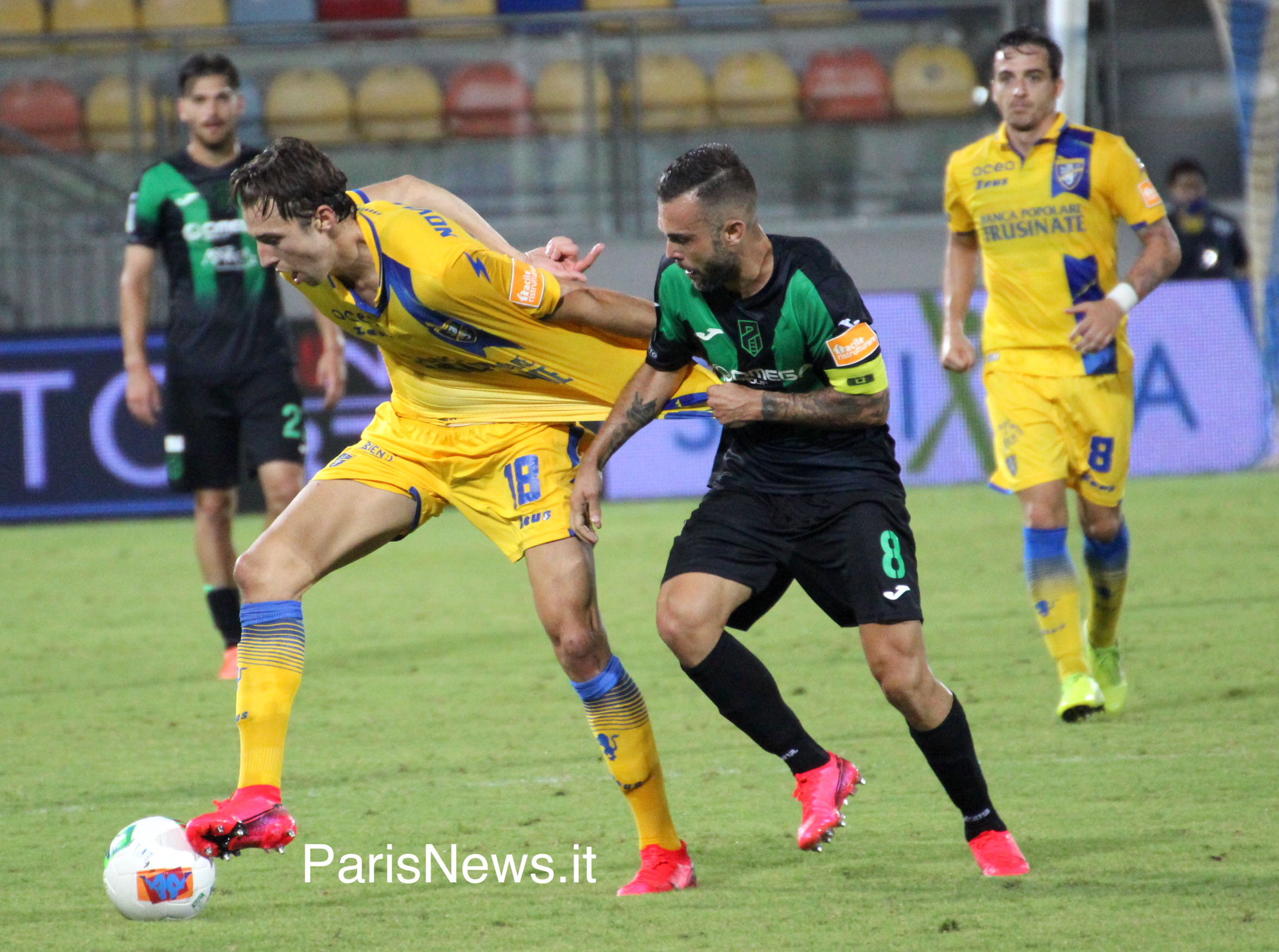 Pordenone - Frosinone 2-0