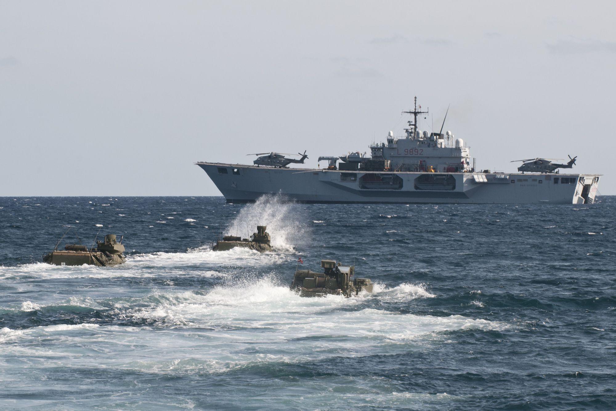 EUNAVFORMED Irini: al via le attivita' in mare