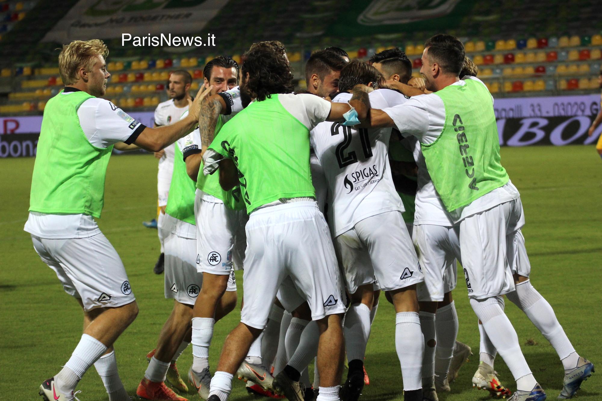 Spezia in Serie A, rammarico per il Frosinone
