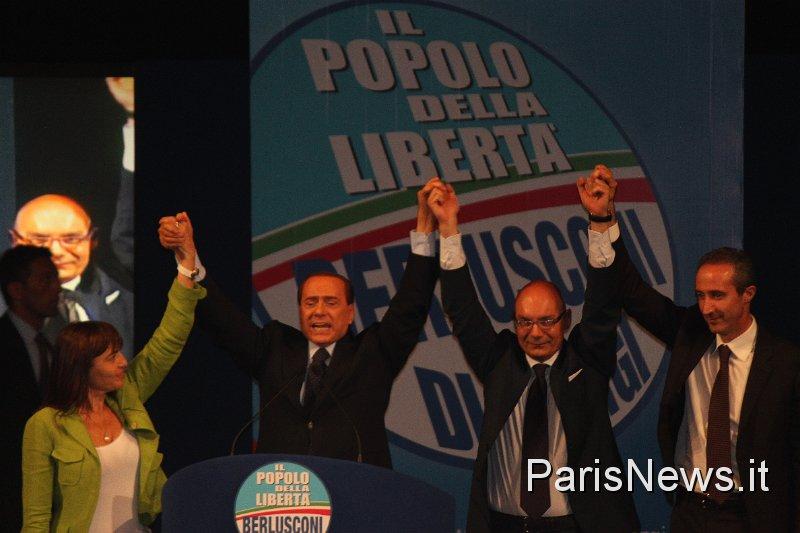 Silvio Berlusconi Di Giorgi Polverini
