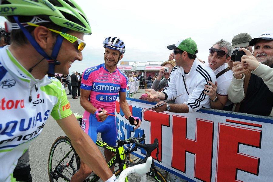 Michele Scarponi Ivan Basso