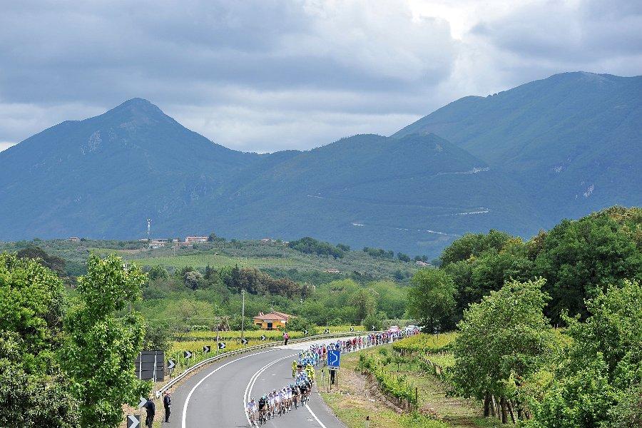 Giro a Frosinone