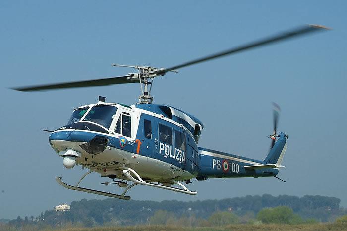 Elicottero Polizia : Caccia al pirata la polizia usa l elicottero